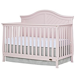 Dream On Me Kaylin 4-in-1 Convertible Crib in Blush