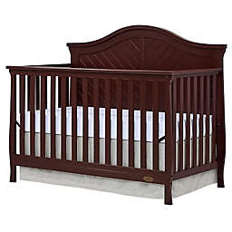 Dream On Me Kaylin 4-in-1 Convertible Crib in Chocolate