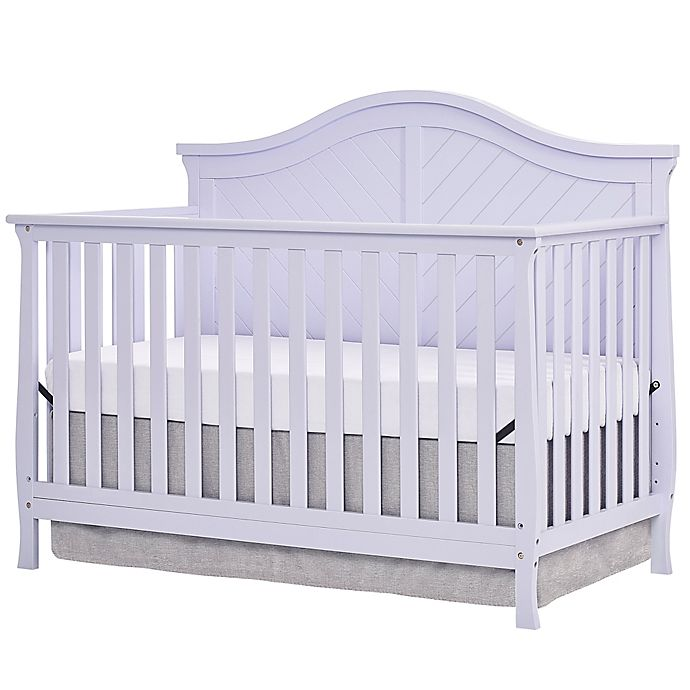 Alternate image 1 for Dream On Me Kaylin 4-in-1 Convertible Crib in Lavender