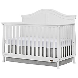 Dream On Me Kaylin 4-in-1 Convertible Crib in White