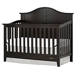 Dream On Me Ella 5-in-1 Convertible Crib in Dark Brown