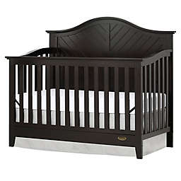 Dream On Me Ella 5-in-1 Convertible Crib in Dark Brown