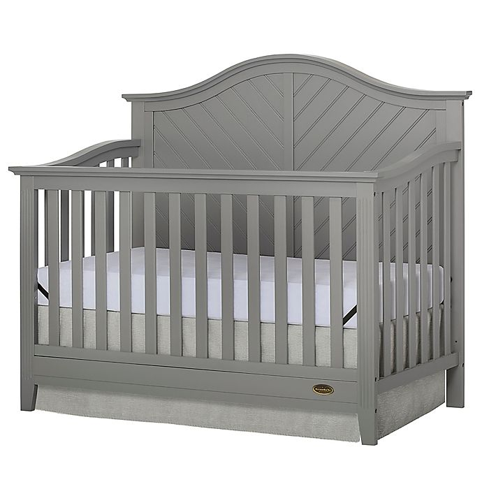 Alternate image 1 for Dream On Me Ella 5-in-1 Convertible Crib in Grey