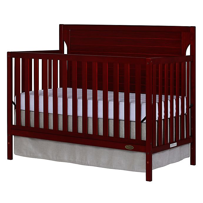 Alternate image 1 for Dream On Me Cape Cod 5-in-1 Convertible Crib in Cherry