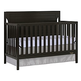 Dream On Me Cape Cod 5-in-1 Convertible Crib in Dark Brown