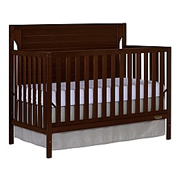 Dream On Me Cape Cod 5-in-1 Convertible Crib in Espresso