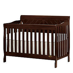 Dream On Me Ashton 4-in-1 Convertible Crib in Espresso