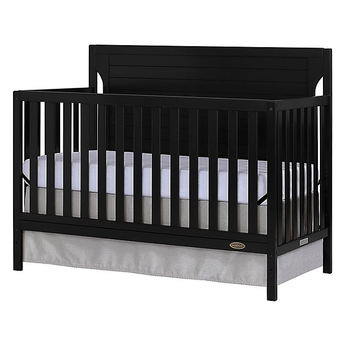Alternate image 1 for Dream On Me Cape Cod 5 in 1 Convertible Crib in Black
