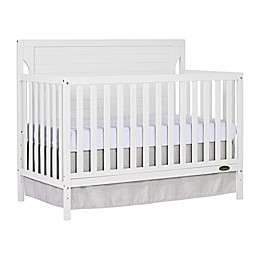 Dream On Me Cape Cod 5-in-1 Convertible Crib in White