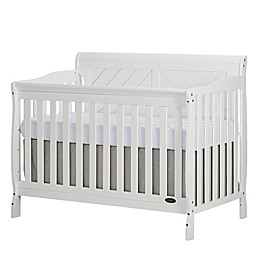 Dream On Me Ashton 4-in-1 Convertible Crib in White