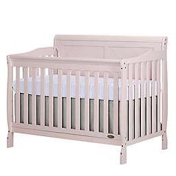 Dream On Me Ashton 4-in-1 Convertible Crib in Blush