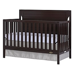 Dream On Me Cape Cod 4-in-1 Convertible Crib in Mocha
