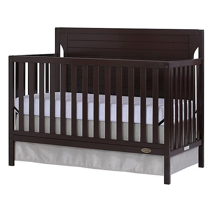 Alternate image 1 for Dream On Me Cape Cod 4-in-1 Convertible Crib in Mocha