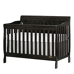 Dream On Me Ashton 4-in-1 Convertible Crib in Dark Brown
