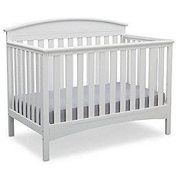 Delta Children Abby 4-in-1 Convertible Crib in White