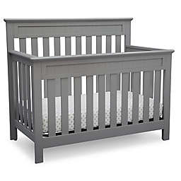 Delta™ Chalet 4-in-1 Convertible Crib in Grey