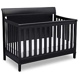 Delta New Haven 4-in-1 Convertible Crib in Black