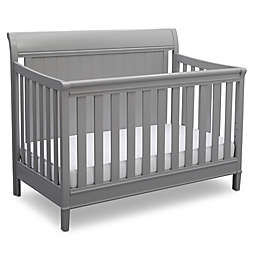 Delta™ New Haven 4-in-1 Convertible Crib in Grey