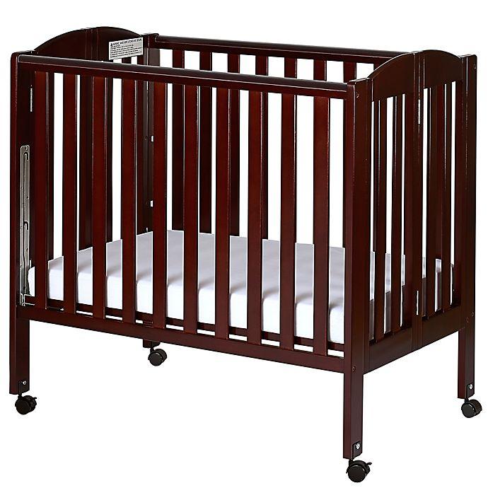 Alternate image 1 for Dream On Me 3-in-1 Folding Portable Crib in Espresso