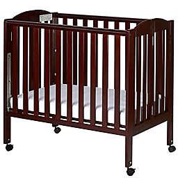 Dream On Me 3-in-1 Folding Portable Crib in Espresso