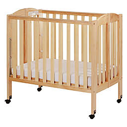 Dream On Me 3-in-1 Folding Portable Crib in Natural
