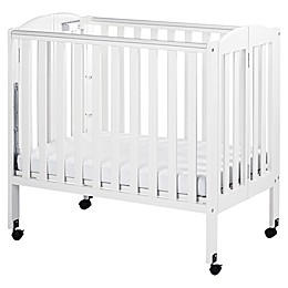 Dream On Me 3-in-1 Folding Portable Crib in White