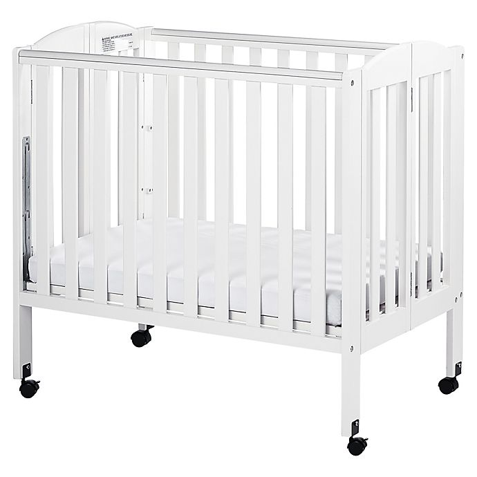 Alternate image 1 for Dream On Me 3-in-1 Folding Portable Crib in White