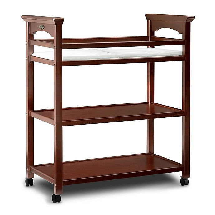 Alternate image 1 for Graco® Lauren Changing Table with Pad in Cherry