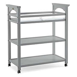 Graco® Lauren Changing Table with Pad in Pebble Grey