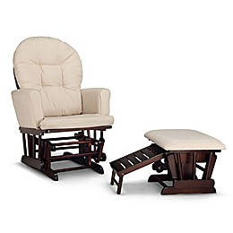 Graco® Parker Semi-Upholstered Glider with Ottoman