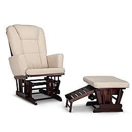 Graco® Sterling Semi-Upholstered Glider with Ottoman