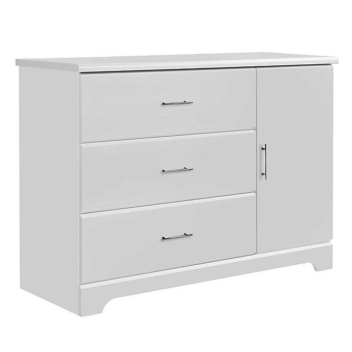 Alternate image 1 for Storkcraft Brookside 3-Drawer Combo Dresser