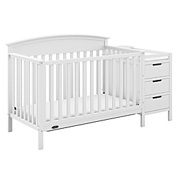 Graco® Benton 4-in-1 Convertible Crib and Changer in White