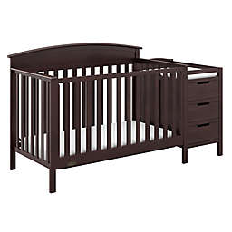 Graco® Benton 4-in-1 Convertible Crib and Changer in Espresso