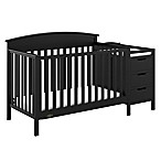 Graco® Benton 5-in-1 Convertible Crib and Changer in Black