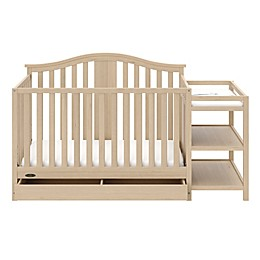 Graco® Solano 4-in-1 Convertible Crib and Changer in Driftwood