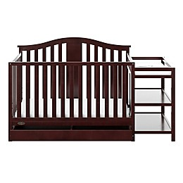 Graco® Solano 4-in-1 Convertible Crib and Changer in Espresso