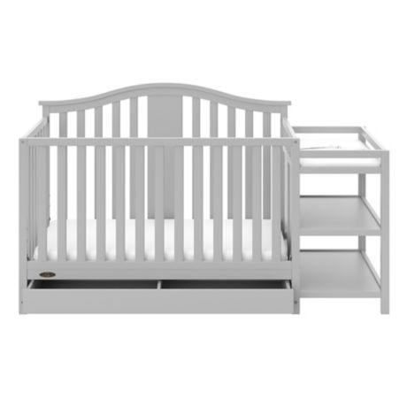 Graco 174 Solano 4 In 1 Convertible Crib And Changer In