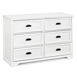 DaVinci Charlie Homestead 6-Drawer Double Dresser in White