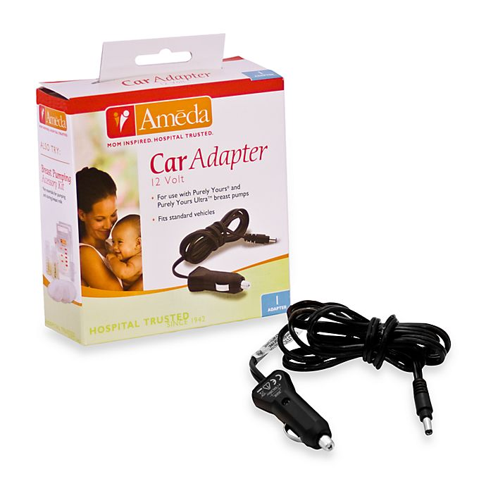 Alternate image 1 for Ameda Purely Yours Breastpump Car Adapter