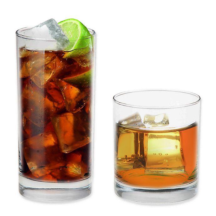 Alternate image 1 for SALT™ Linear 16-Piece Drinkware Set