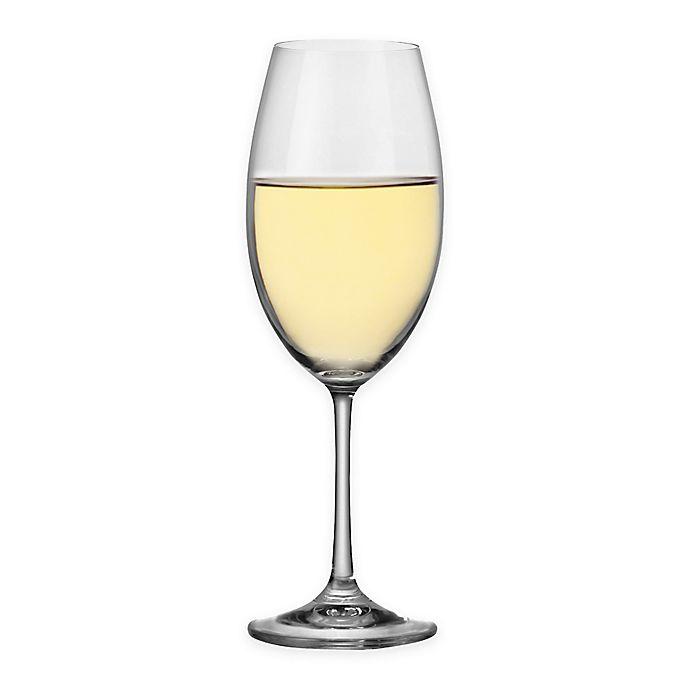 Alternate image 1 for Red Vanilla Barbara White Wine Glasses (Set of 6)