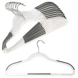 Studio 3B Slim Grips 10-Pack Clear Hangers