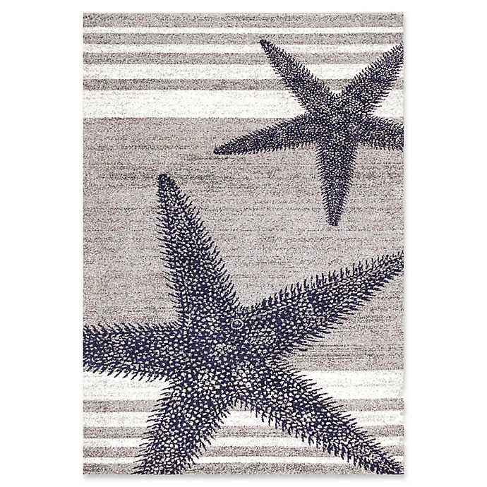 Alternate image 1 for nuLOOM Thomas Paul Starfish Rug in Grey