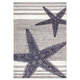 nuLOOM Thomas Paul Starfish Rug in Grey