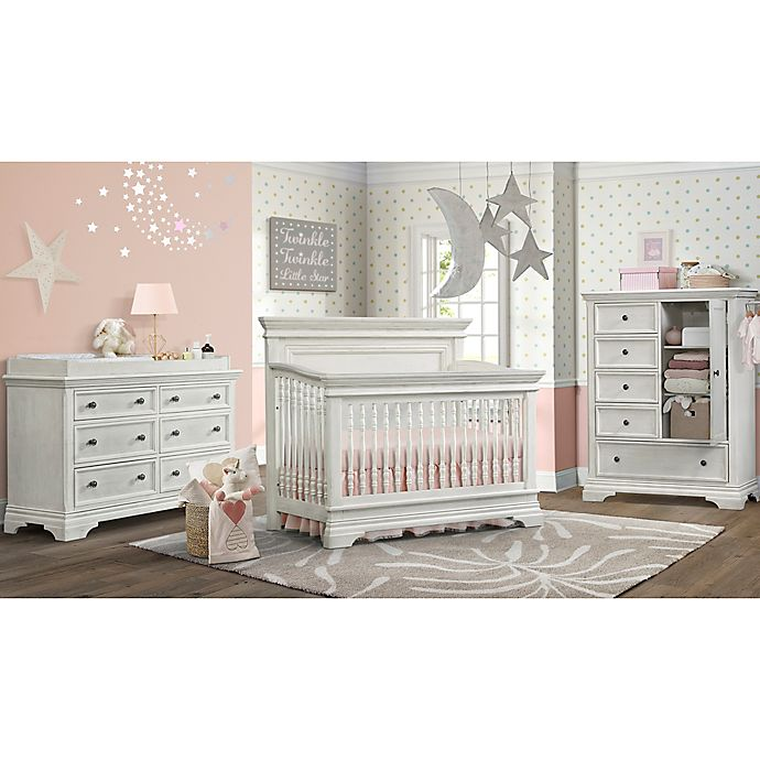Alternate image 1 for Westwood Design Olivia Nursery Furniture Collection in Brushed White