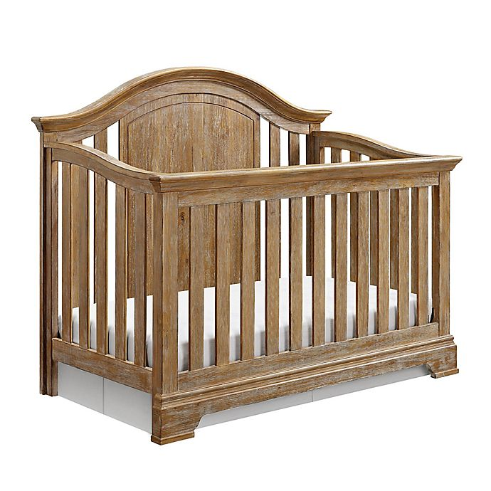 Macy Furniture Location: Baby Relax Macy 4-in-1 Convertible Crib In Natural Rustic
