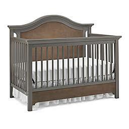 Ti Amo Catania 4-in-1 Convertible Crib in Slate/Brown