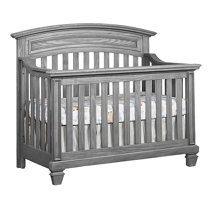 Alternate image 1 for Oxford Richmond 4-in-1 Convertible Crib in Brushed Grey