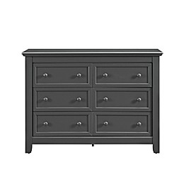 Baby Relax Tia 6-Drawer Dresser in Slate